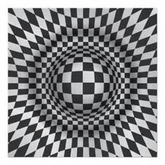 black and white optical art - Yahoo Image Search Results