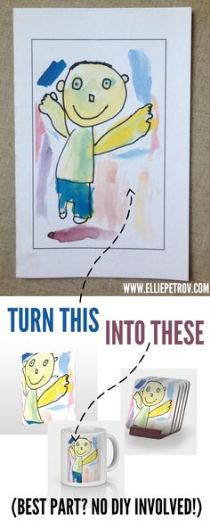 Turn your kids artw