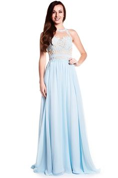 $138.69 – Illusion Lace Bodice Breezy Chiffon Prom Dress. Free Shipping & Free Custom Made! Buy cheap prom dresses, prom dresses for teens, plus size prom dresses, boho prom dresses, two piece prom dresses, halter prom dresses, vintage prom dresses, backless prom dresses, prom dresses with sleeves, mermaid prom dresses from us We have a great number of designer's prom dress on sale at #UcenterDress.com today!