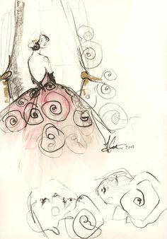 Katie Rodgers sketchbook