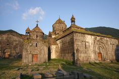 ArmeniaSanahin monasteryLori Province  In a village above Alaverdi lies the monastery complex of Sanahin which dates back to the 10th century. It is listed on UNESCO World Heritage list