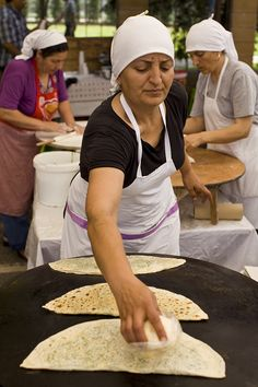 Gozleme Market - Istanbul