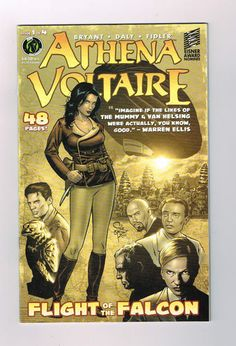 ATHENA VOLTAIRE: FLIGHT OF THE FALCON 4-part Eisner nominated series! NM