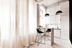 Cet appartement de 29 m2 est en fait situé en Pologne, même si le style fait bien scandinave. J'aime beaucoup comment l'architecte a utilisé...