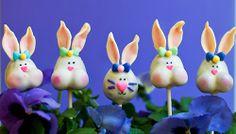 Easter cake pops Easter Cake Pops, Easter Bunny Cake, Easter Cupcakes, Easter Party, Easter Treats, Easter Desserts, Easter Recipes, Spring Cupcakes, Hoppy Easter