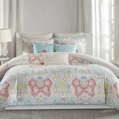 echo design Cyprus Comforter Set Size: California King