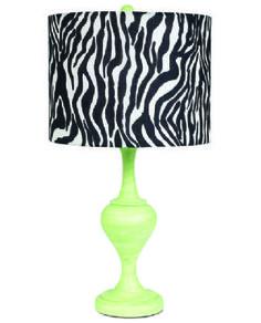 Modern Green Curvature Lamp