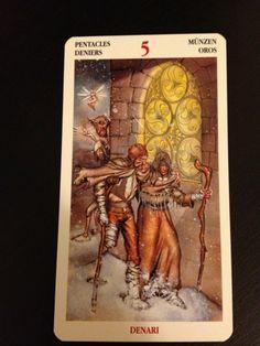 5 of Pentacles - Celtic Tarot