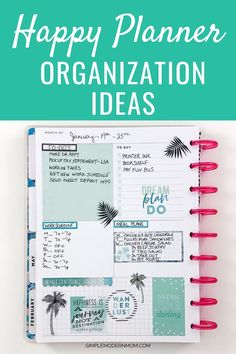 These Planner Organization Tips Will Keep Your Life On Track To Do Planner, Monthly Planner, Planner Pages, Life Planner, Printable Planner, Happy Planner, Planner Stickers, Planner Ideas, 2015 Planner