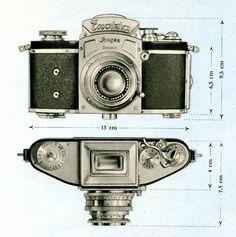 Kine Exakta wurde 1936 die Standard Exakta