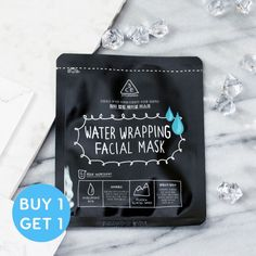 Water Wrapping Facial Mask (BOGO-Set of 2)