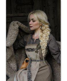 Viking Cosplay, Viking Garb, Viking Dress, Viking Clothing, Historical Clothing, Historical Photos, Mabon, Samhain, Vikings