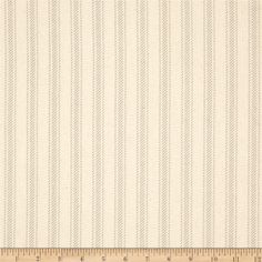 Premier Prints Hayes Stripe Grey/Natural