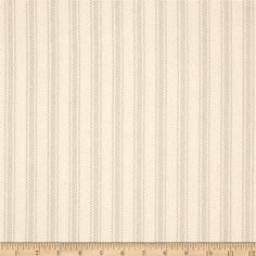 Premier Prints Hayes Stripe Grey/Natural