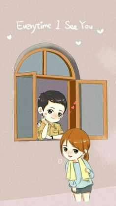 descendants of the sun wallpaper Songsong Couple, Cute Couple Art, Chibi, Descendants Of The Sun Wallpaper, Song Hye Kyo Descendants Of The Sun, Desendents Of The Sun, Song Joon Ki, Fanart, K Wallpaper