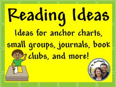 A board dedicated to inspiring reading in the home, classroom, and everywhere in between! Anchor charts, book clubs, journals, and more. Join Us!
