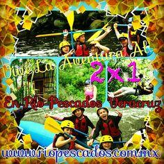 Buen día a todos feliz miércoles de 2x1 en #Jalcomulco #Veracruz conoce más en http://www.riopescados.com.mx
