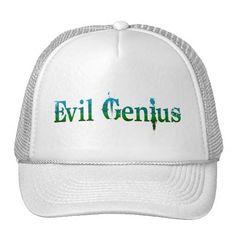 Evil Genius Trucker Hat #halloween