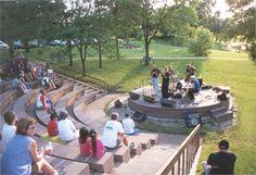 Small Outdoor Amphitheaters | Phalen Park Amphitheater