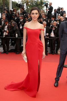 """Katya Mtsitouridze attends """"The BFG (Le Bon Gros Geant - Le BGG)"""" premiere during the 69th annual Cannes Film Festival on May 14, 2016 #Cannes2016"""
