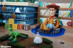 The Toy Story Section from Disney's All Star Movies Resort. An update to all All Star Resorts with details and pictures, right here. | http://land.allears.net/blogs/jackspence/2014/05/all_star_resorts_a_relook.html | #Disney #Resorts #Value #ToyStory #Woody #AllStar #Hotel #Vacation #Disney #WDW