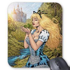 Princesse Kissing des contes de fées #10 de Grimm Tapis De Souris