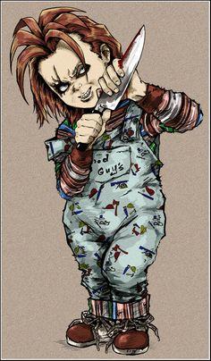 Charles Lee Ray and Tiffany | deviantART: More Like Life Size Chucky Doll by ~jayrbermuda