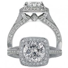 Shop Engagement Rings with Side Diamonds | Brent Miller Jewelers ...