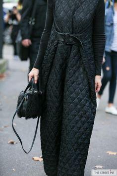 Outside Comme des Garçons / Paris Fashion Week SS18