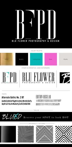 Branding Identity Design for BFPD | Brand Board