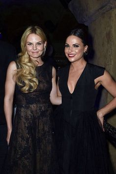 Jennifer Morrison and Lana Parrilla | OUAT S4 Premiere