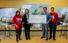 December 17, 2014: Delta Dental presents a check to East Tennessee Children's Hospital.
