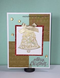 Show and Tell, with Michelle: October 2016 Stamp of the Month Blog Hop ~ Yuletide Joy