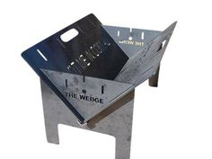 The Wedge™ Base Fire Pit - A Portable Camping Fire Pit – Fire Pits Direct