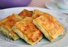Börek mit Käse – Peynirli Tepsi Böreği
