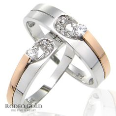 Gold engagement rings TCR07160