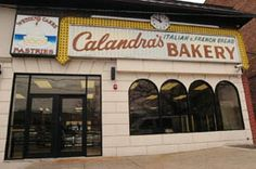 Calandra's Bakery... 204 First Ave, Newark, New Jersey.  For the Best Bread, Cakes and Pastries in the world....... Where the Knicky Newarkers and their Families Go!!!!