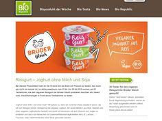 20 ProdukttesterInnen für das vegane Bio-Reisgurt von Brüder Gleich gesucht! Noch bis 29. April 2015 werden von Bio Republic20 TesterInnen für...