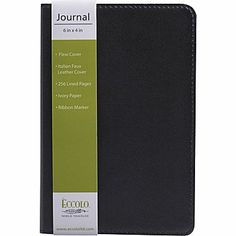 Eccolo Black Leather Journals