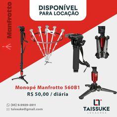 Monopé Manfrotto 560B1 Valores das diárias 1 diária R$ 50,00 2 diárias R$ 75,00 3 diárias R$ 100,00 Consultar preços para outros períodos  Aceitamos todos os cartões. Contato 85.999292811  #monopémanfrotto #manfrotto #taissukelocacoes #taissuke #canon #nikon #Fortaleza #ceara #brasil #osmo #djiosmo