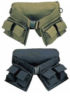 93d777ccf9c7f Military Style 7 Pocket Canvas Utility Waist Pack by Rothco