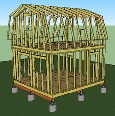Cattail Cabin Plans - Simple Solar Homesteading