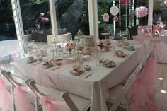 high tea party at home