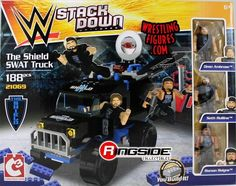 WWE stack down the shield swat truck