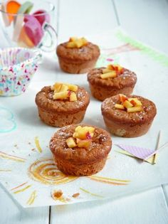 gingerbread mug cake Sweets Recipes, Baby Food Recipes, Cooking Recipes, Kid Recipes, Cupcakes, Cupcake Cakes, Mumbai Street Food, Cactus Cake, Puppy Cake