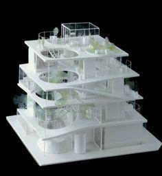 ryue nishizawa - S project - japan - 2008 Japan Architecture, Architecture Drawings, Architecture Portfolio, Concept Architecture, Interior Architecture, Building Architecture, Cubic Architecture, Architecture Panel, Architecture Visualization