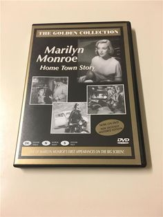 Annons på Tradera: THE GOLDEN COLLECTION - MARILYN MONROE - HOME TOWN STORY