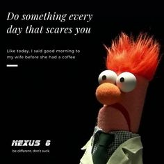 Be afraid be afraid always. It's part of running a business. Business Marketing, Social Media Marketing, Digital Marketing, Startups, Iowa, Ecommerce, Seo, Something To Do, Running