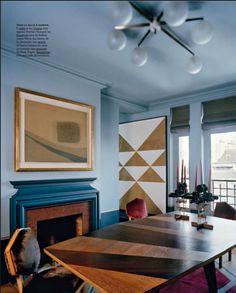 multipurpose/multifunction tabletop, closet door, loft platform? ... colors, graphics, ceiling fixture