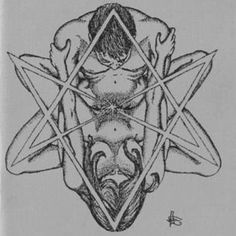 """The hexagram also has a sexual connotation.  It represents sexual union.  The triangle pointed downward is a female symbol and the triangle pointed upward is the male"" - instagram"